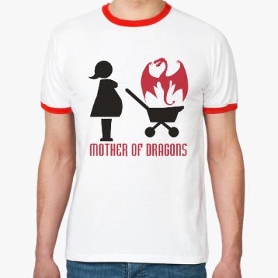 Футболка Ringer-T Мать драконов