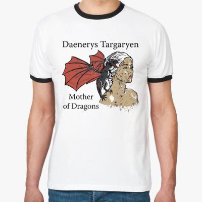 Футболка Ringer-T Игра престолов Таргариены