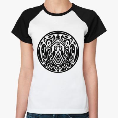 Женская футболка реглан Quileute  Ж()