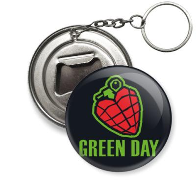 Брелок-открывашка Green Day
