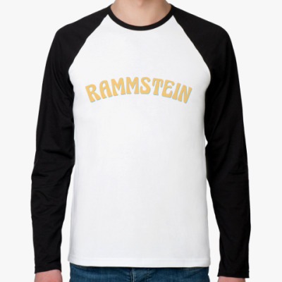 Футболка реглан с длинным рукавом Rammstein