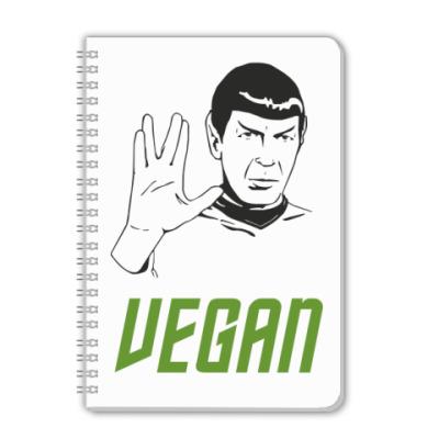 Тетрадь Vegan Spock