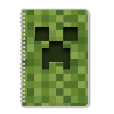 Тетрадь Тетрадь А5 Minecraft Creeper