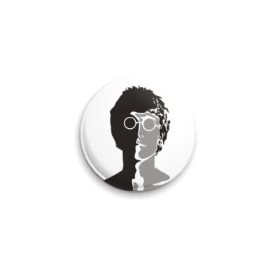 Значок 25мм Джон Леннон