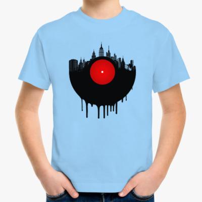 Детская футболка Винил