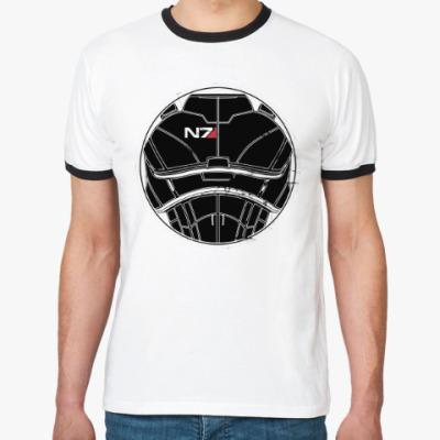 Футболка Ringer-T N7 Mass Effect
