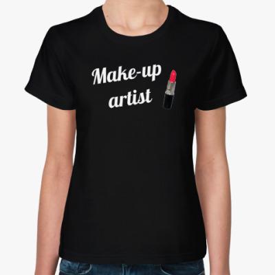Женская футболка для визажиста (Make-up Artist)