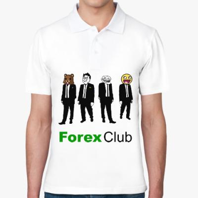 Рубашка поло Forex Club