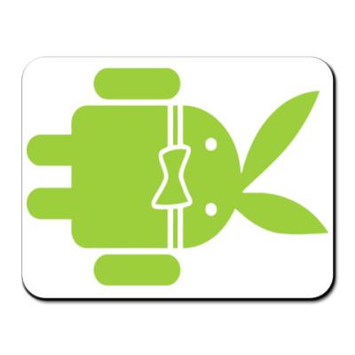 Коврик для мыши Андроид плейбой