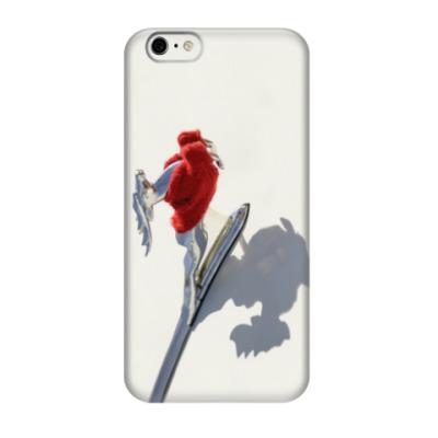 Чехол для iPhone 6/6s Олень в свитере ГАЗ 21