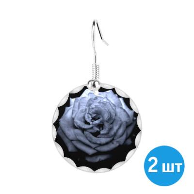 Серьги Готичная роза