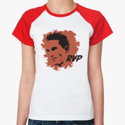 Женская футболка реглан Ван Перси