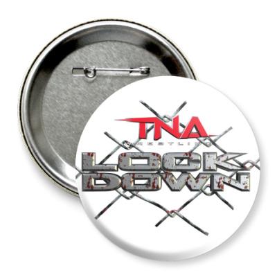 Значок 75мм TNA Lockdown
