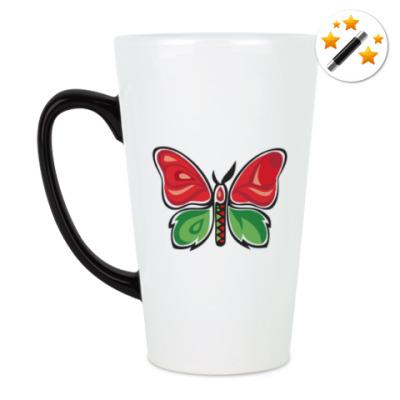 Кружка-хамелеон Бабочка-Метаморфоза