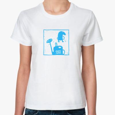 Классическая футболка Водолей
