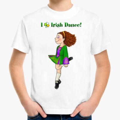 Детская футболка Irish Dance