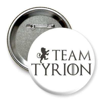 Значок 75мм Команда Тириона