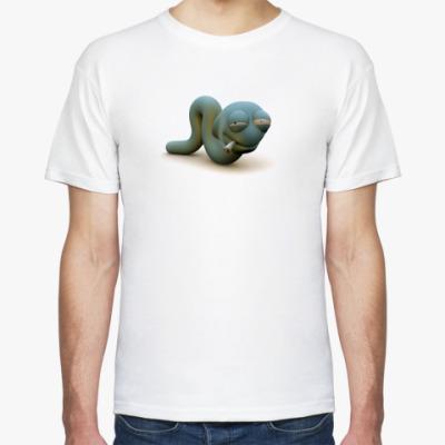 Футболка  футболка Worm