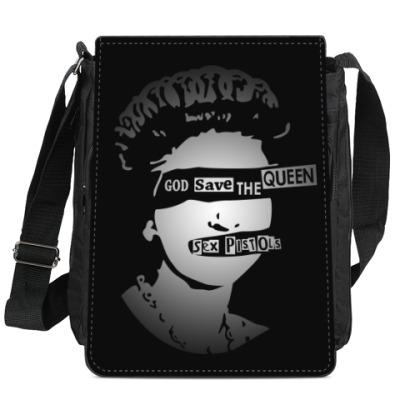 Сумка-планшет Sex Pistols