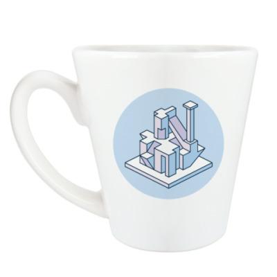 Чашка Латте Geometry