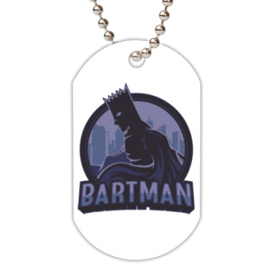Жетон dog-tag Bartman
