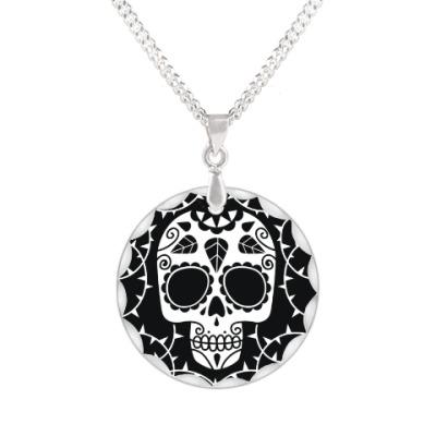 Кулон Мексиканский череп