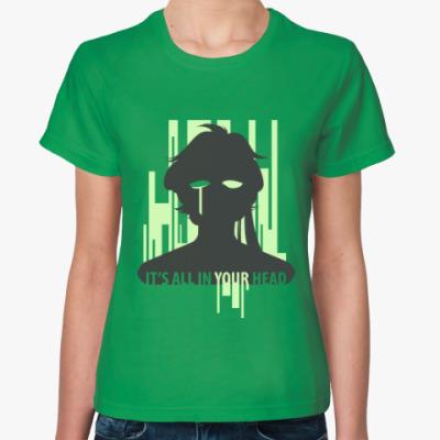 Женская футболка Toxic