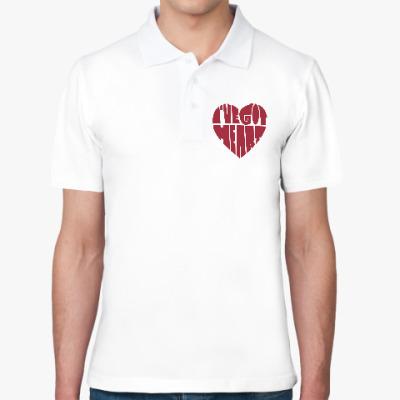 Рубашка поло У меня есть сердце