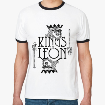 Футболка Ringer-T Kings of Leon