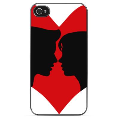 Чехол для iPhone Сердце хочет любви