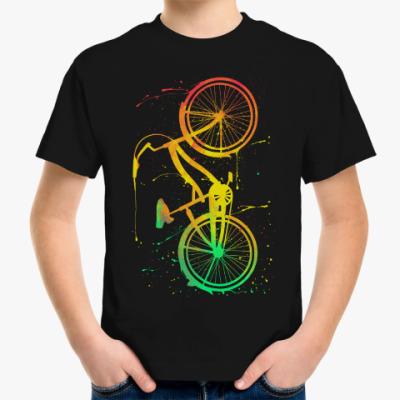 Детская футболка Велосипед