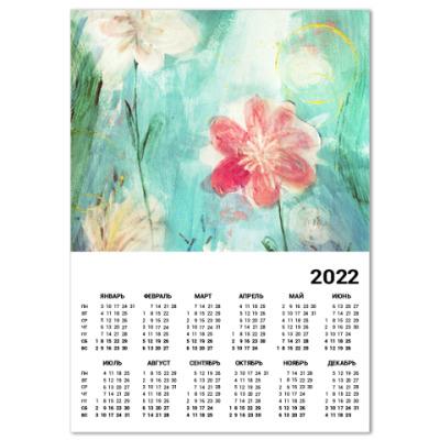 Календарь Весенние цветы