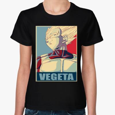 Женская футболка Вегета (Жемчуг Дракона)