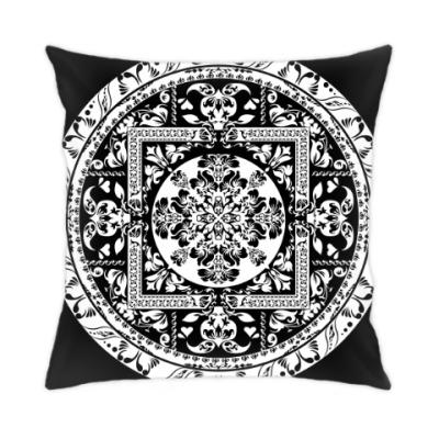 Подушка Красивый орнаментальный дизайн
