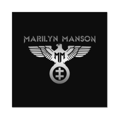 Наклейка (стикер) Marilyn Manson