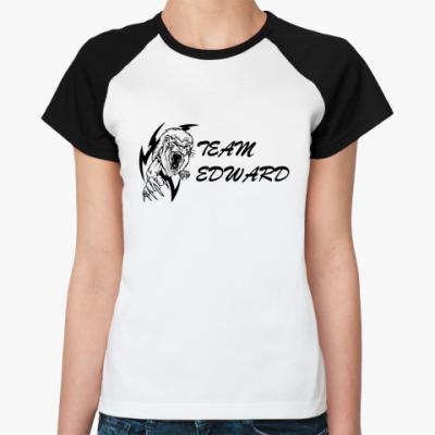 Женская футболка реглан   Team Edward