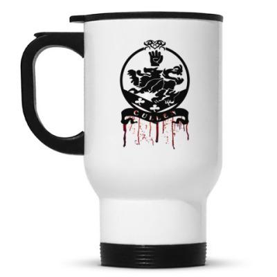 Кружка-термос Bloody Cullen emblem