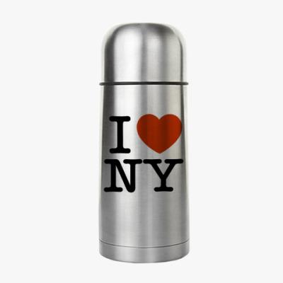 Термос I love NY