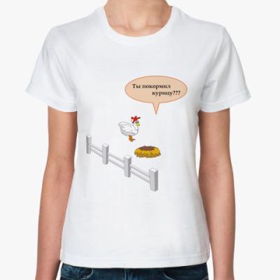 Классическая футболка Курица