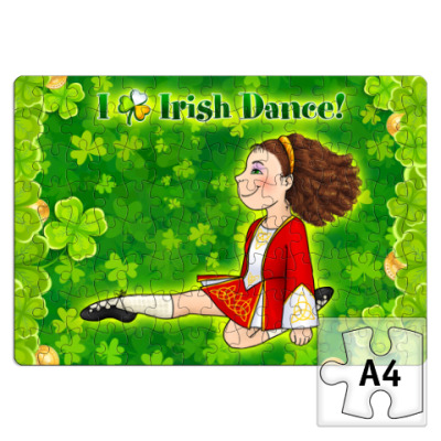 Пазл I love Irish dance
