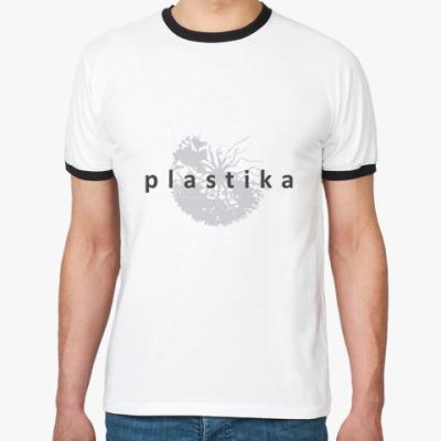 Футболка Ringer-T Plastika