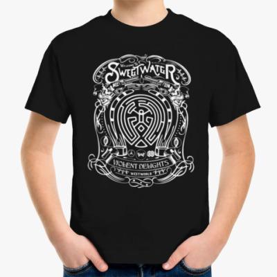 Детская футболка Мир Дикого Запада
