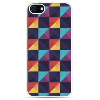 Чехол для iPhone Цветные кубы