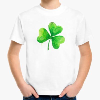 Детская футболка Клевер