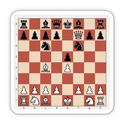 Костер (подставка под кружку) Подставка под кружку шахматы