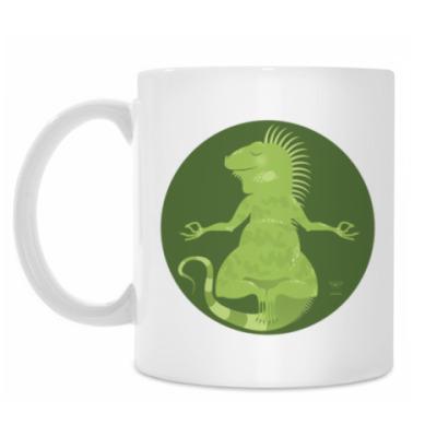 Кружка Animal Zen: I is for Iguana