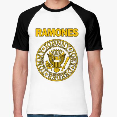 Футболка реглан Ramones