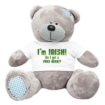 Плюшевый мишка Тедди I'm Irish!