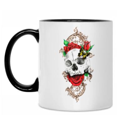 Кружка Skull&Roses