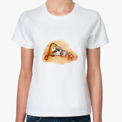 Классическая футболка  Thhhh-Zzz